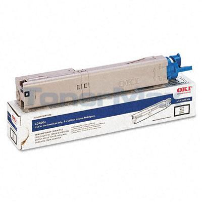 OKI C3400N SERIES TONER CARTRIDGE BLACK 2.5K